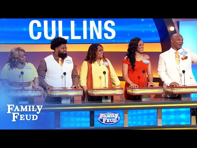 Best family intro song ever? | Family Feud
