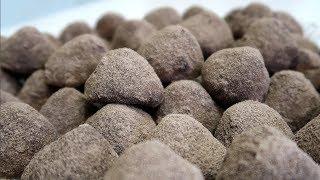 Песочное печенье Трюфель с белым шоколадом внутри Объедение