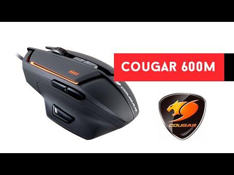 Cougar 600M ratón mouse laser 8200DPI, unboxing review y análisis