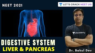 Digestive System: Liver \u0026 Pancreas | NEET Biology | NEET 2021 | Dr. Bakul Dev