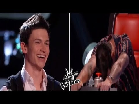 The Voice   Adam's brother who blows the judges away !!!