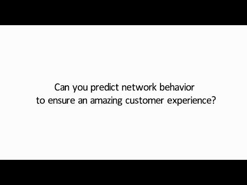 Predictive Network Behavior with CA Technologies and Netrounds