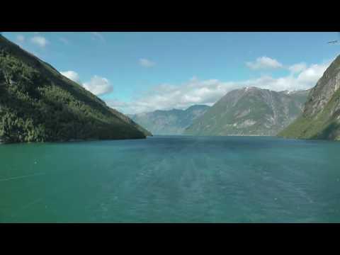 Geirangerfjord - Ausfahrt (Timelapse HD)