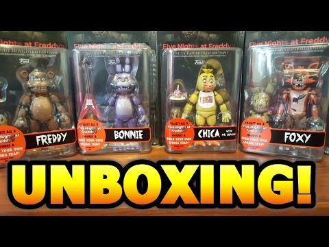 UNBOXING FNAF ACTION FIGURES!!!