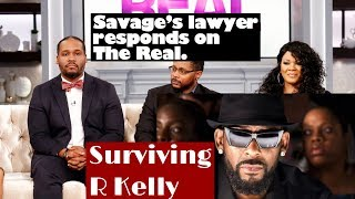 Savages' Attorney responds on #theReal. #SurvivingRKelly #JoycelynSavage #Rkelly