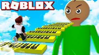 ESCAPE BALDI'S BASICS SCHOOL OBBY IN ROBLOX!