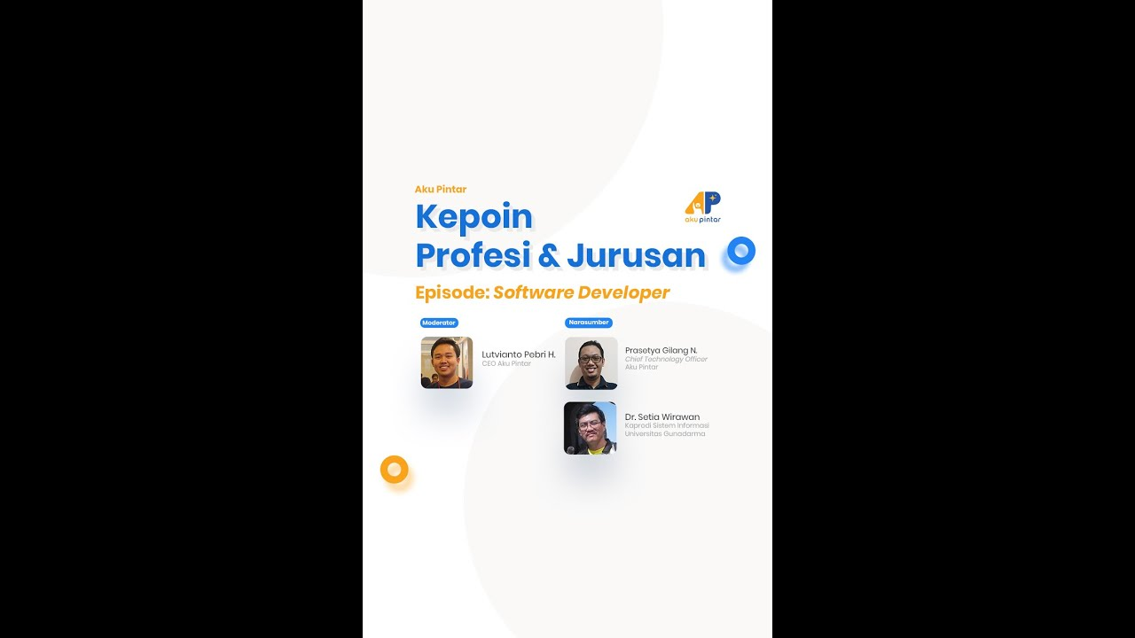 Software Developer | AP Kepoin Profesi & Jurusan