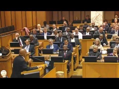 "WATCH Jacob Zuma ""Lying"" About Grace Mugabe Immunity. Parliament"
