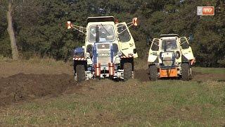 TraktorTV Folge 02 - ZT beim Pflügen im Oderbruch
