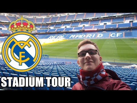 SANTIAGO BERNABÉU STADIUM TOUR! - Real Madrid Stadium 2019