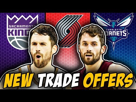NEW Trade Offers For Kevin Love