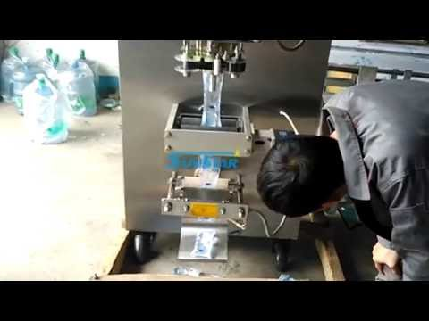 Automatic Sachet Pouch Water Filling And Packing Machine With Ribbon Coder