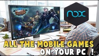 HOW TO PLAY MOBILE LEGENDS / ARENA OF VALOR / HEROES EVOLVED ON PC WITH NOX