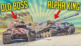 Which is Better - The King of Alpha or Old Boss? ► World of Tanks VK 75.01 (K) vs Löwe