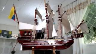 Barco en Miniatura