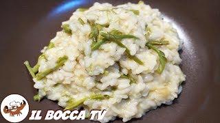 581 - Risotto agli asparagi selvatici...per momenti estatici! (primo piatto genuino facile e veloce)