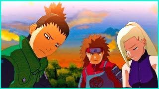 Asuma Death | Naruto Shippuden Ultimate Ninja Storm 2 Game | Ino , Choji and Shikamaru