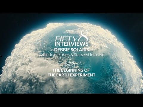 FIFTY8 Interviews Debbie Solaris / PART I The Beginning of The Earth Experiment