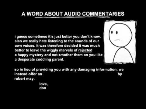 Rejected - A Word About Audio Commentaries