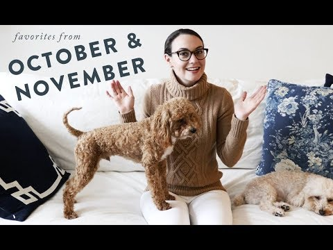 My October and November Favorites | Fashion, Beauty, and Lifestyle