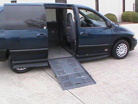 2000 Dodge Grand Caravan Wheelchair Van Handicap For Sale In Charlotte NC