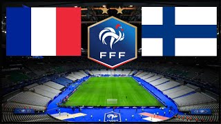 Commentary FRANCE FINLANDE MATCH AMICAL Talk