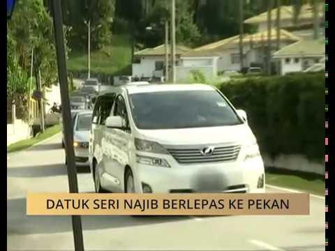 Datuk Seri Najib berlepas ke Pekan