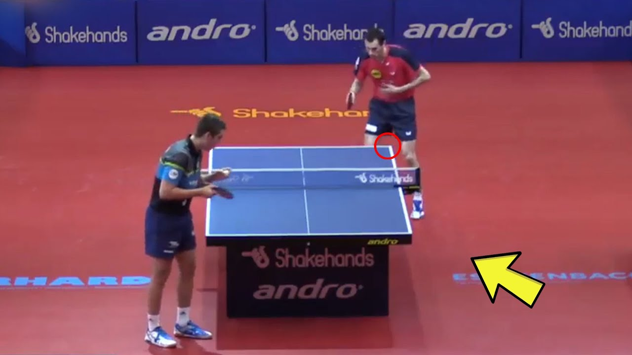 An Unforgettable Table Tennis Rally [HD] #Shorts