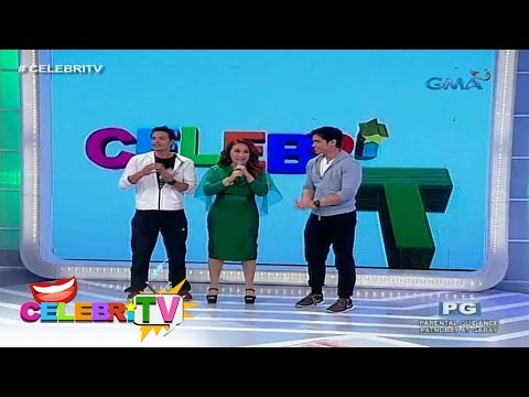 CelebriTV: Rafael Rosell and JC Tiuseco on Ai Challenge You