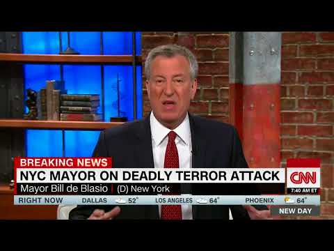 Bill de Blasio: Trump, don't politicize tragedy