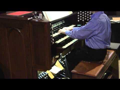 Luther Memorial Organ 12/3/14  Scheidt, Scheidemann, Bach