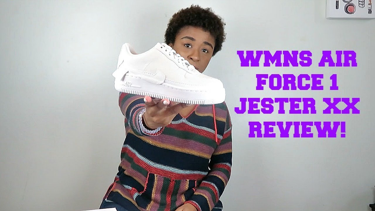 the best attitude dd8cd 1c95c WMNS Air Force 1 Jester XX Review   The 1 Reimagined
