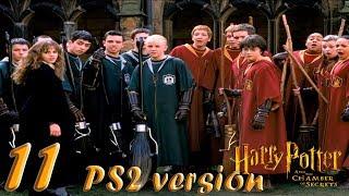 Гарри Поттер и Тайная Комната прохождение PS2-версия #11 Летаем на метле по окрестностям Хогвартса