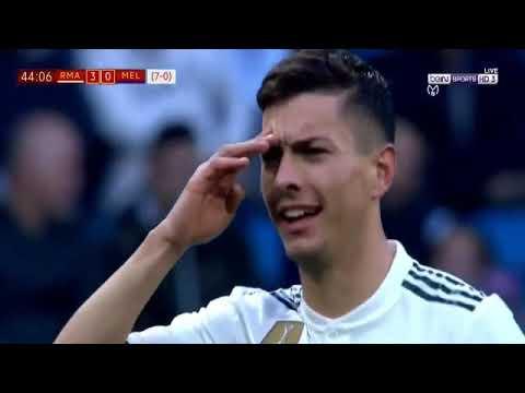 Real Madrid vs Melilla 6-1 Highlights & GOALS 05/12/2018 Mp3