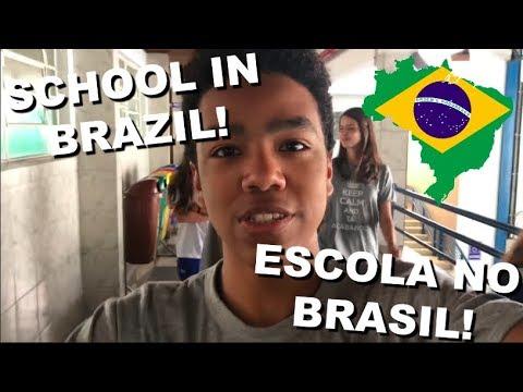 SCHOOL IN BRAZIL  ESCOLA NO BRASIL