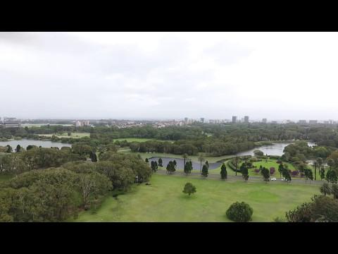 Sydney Centennial Park By Drone - Part I