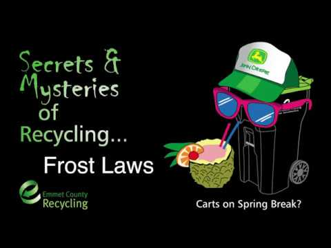 Emmet County Recycling -  Frost Laws
