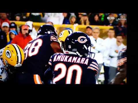 Packers Bears Big Hit