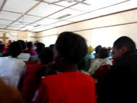 Mwandi, Zambia - Church 2
