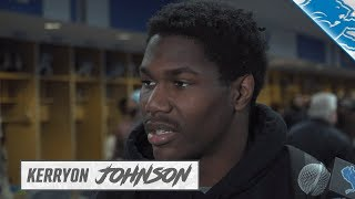 Kerryon Johnson on building for strong second season