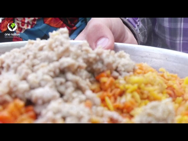 DAILY IFTAR MEALS DELIVERED OUTSIDE MASJID TAQWA, SYRIA