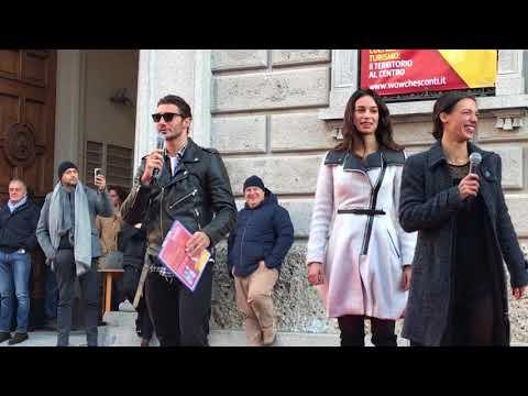 Stefano De Martino arriva a Lecco