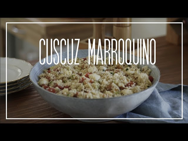 Receita de CUSCUZ MARROQUINO + passeio pela Grande Mosquée de Paris | Le Plat du Jour