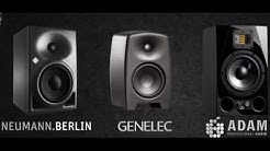Neumann KH120A vs Genelec M030 Adam A7X Studio Monitor Review Comparison