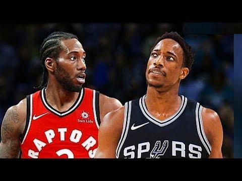 NBA Players React To Kawhi Leonard and DeMar Derozan Trade!