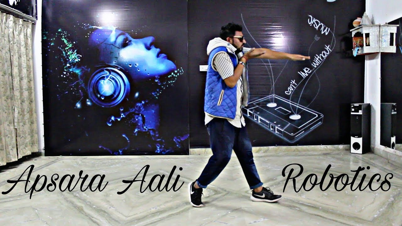 Apsara Aali Robotics Dance By Avinash Sharma Full Video Coming
