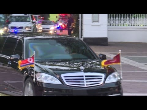 N. Korea's Kim heads to Istana presidential palace in Singapore