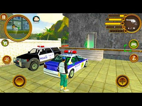 Miami Crime Police ▶️Best Android-iOS Games GamePlay 1080p(by Naxeex LLC)