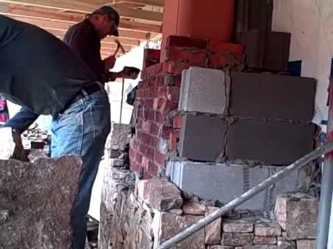 How To Build A Stone Fireplace By Joe Waldrop You