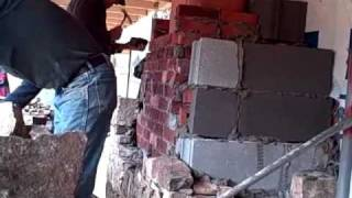 How To Build A Stone Fireplace By  Joe Waldrop